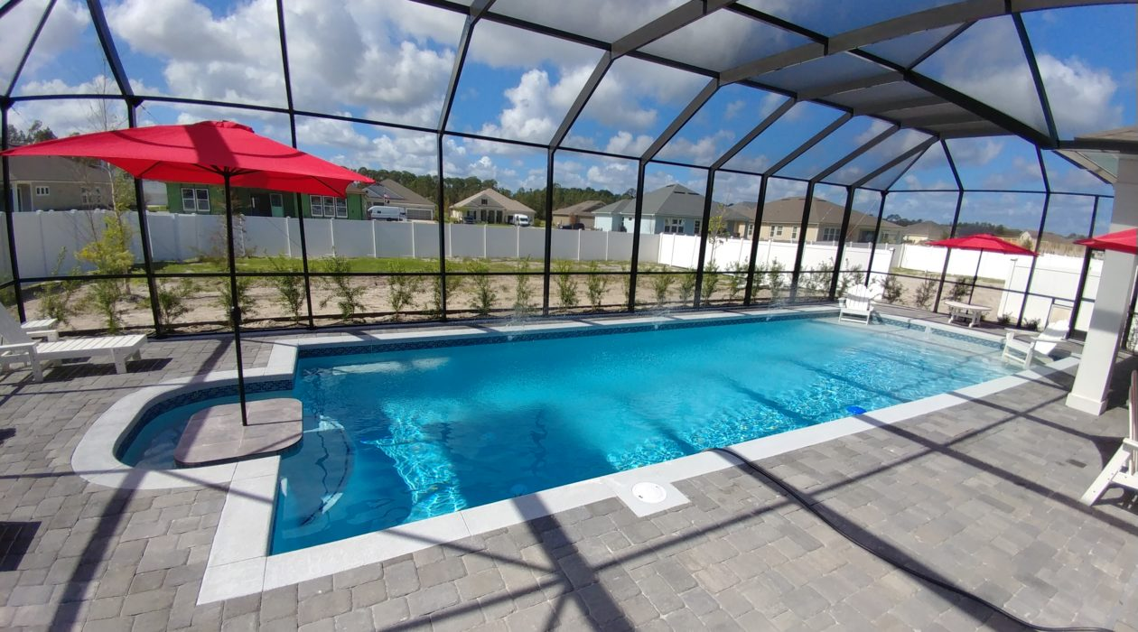 Brick Paver Pool Deck Aragon Parker Pools  Page 19  St Augustine's Premiere Swimming Pool